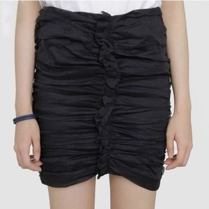 ISABEL MARANT Lypsi Ruched Cotton Organdy Skirt